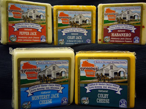 Henning's Colby & Monterey Jack Cheeses