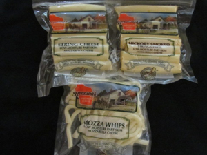 Henning's Mozza Whips & String Cheeses