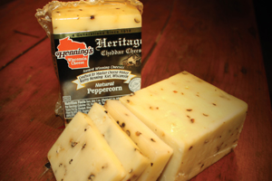 Multi-award Winning Peppercorn Cheddar Cheese
